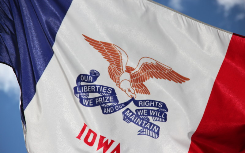 Birthplace of the Iowa Flag